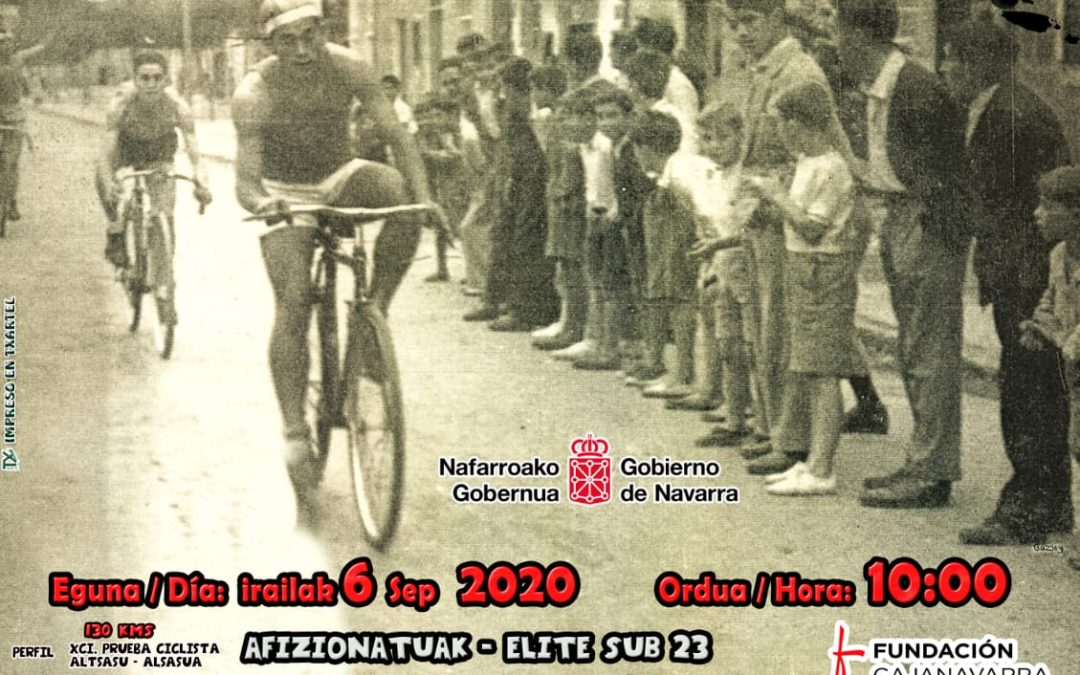 91 Prueba ciclista Altsasu-Alsasua 6 DE SEPTIEMBRE